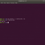 Compile and Run C Programs in Linux using GCC Compiler